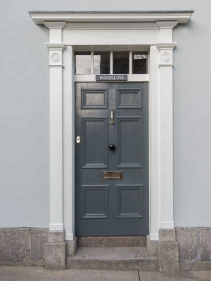 Front door by Richard Halliday Joinery