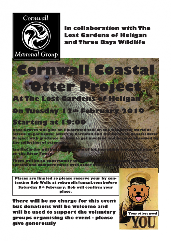 Cornwall Coastal Otter Project